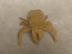 Jumping Spider (N. Ngoc Thanh) (Helyades) Tags: origami pli pliage fold ioio paper papier carré square jumping spider araignée animal kraft