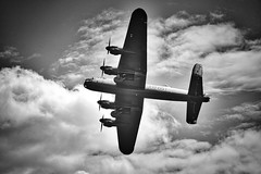 East Kirkby Lincolnshire 5th August 2017 (loose_grip_99) Tags: east kirkby lincolnshire airfield aircraft flying air display raf avro lancaster wwii blackwhite noiretblanc bomber airfix july 2017
