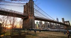 #brooklynbridge ##sunset  #brooklyn #bridge #NewYork (lelobnu) Tags: brooklynbridge brooklyn bridge newyork