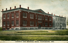 Science and Medical Hall, Valparaiso University, circa 1908 - Valparaiso, Indiana (Shook Photos) Tags: postcard postcards sciencehall medicalhall university college learning highereducation valparaisouniversity valpo vu valparaisoindiana valparaiso portercounty indiana