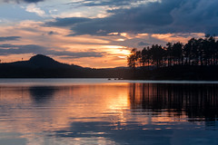 IMG_5065-1 (Andre56154) Tags: schweden sweden sverige wasser water himmel sky wolke cloud landschaft landscape see lake ufer sunset forest sonne sun