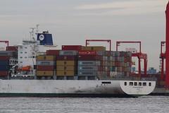 Safmarine Nomazwe (das boot 160) Tags: safmarinenomazwe boxboat container ships sea ship river rivermersey port docks docking dock boats boat mersey merseyshipping maritime manchestershipcanal