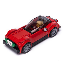 75886 Classic Coupe (KEEP_ON_BRICKING) Tags: lego speed champions set 75886 ferrari rebuild model moc car vehicle coupe classic style keeponbricking 2018 new legospeedchampions lego75886 lego75886moc