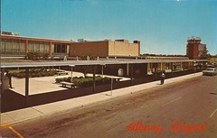 ALB02 (By Air, Land and Sea) Tags: airport postcard albany newyork albanycountyairport