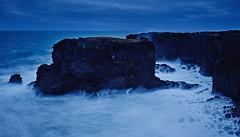 Snæfellsnes (LalliSig) Tags: blue landscape iceland winter snow long exposure lee filters ocean seastacks snæfellsnes