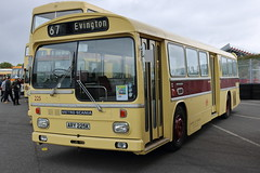 225 ARY 225K (ANDY'S UK TRANSPORT PAGE) Tags: buses showbus2018 castledonington preservedbuses leicestercitytransport