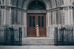The Church (mgiachetti) Tags: ny newyork nyc manhattan people photography city church street streetphotography