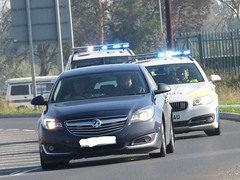 The Chase. (Could Well Be A Training Exercise) (Gary Chatterton 4 million Views) Tags: police pursuit chase goole outerringroad exercise training emergencyservices car automobile transport vehicle flickr explore photography canonpowershot bluelights
