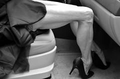 DSC_0111jjbw (ARDENT PHOTOGRAPHER) Tags: calves highheels skinnywomen flexing gilf