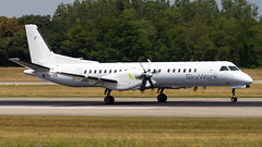 Saab 2000 HB-IYA SkyWork Airlines (William Musculus) Tags: airport spotting basel mulhouse freiburg euroairport flughafen eap bsl mlh lfsb hbiya skywork airlines saab 2000 sx srk