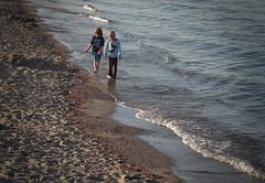 Kids on the beach (VeitHausmann) Tags: strand wasser kinder ostsee