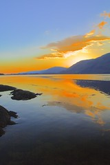 Sunset, Loch Linnhe, Highlands, Scotland, UK (BrianDerbyshire) Tags: uk scotland highlands lochlinnhe loch canon canondslr canon760d reflections tide