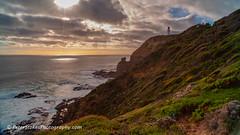 Flinders Lighthouse. (Peter.Stokes) Tags: sunset sea australia nature light colour evening