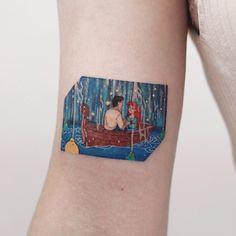 Disney (TattooForAWeek) Tags: disney tattooforaweek temporary tattoos wicker furniture paradise outdoor