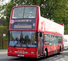 York (Andrew Stopford) Tags: v518esc dennis trident plaxton president transdev yorkshirecoastliner citysightseeing lothianregionaltransport york