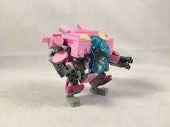 LEGO  Overwatch  D.Va mech (Syntheticmason 1) Tags: lego overwatch