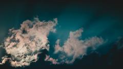 sun lit cloud (alpha.zork) Tags: vintage lens vintageglass vintagelens nikkor