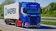 BX55095 (18.05.08, Motorvej 501, Viby J)DSC_7060_Balancer (Lav Ulv) Tags: 247378 scania scaniasseries sseries rsseries 2018 daniatrucking michaeltang vognmandmichaeltang s580 v8 topline e6 euro6 container 6x2 blue maersk truck truckphoto truckspotter traffic trafik verkehr cabover street road strasse vej commercialvehicles erhvervskøretøjer danmark denmark dänemark danishhauliers danskefirmaer danskevognmænd vehicle køretøj aarhus lkw lastbil lastvogn camion vehicule coe danemark danimarca lorry autocarra danoise vrachtwagen motorway autobahn motorvej vibyj highway hiway autostrada trækker hauler zugmaschine tractorunit tractor artic articulated semi sattelzug auflieger trailer sattelschlepper vogntog oplegger