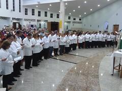 Apresentação dos Ministros Extra-ordinários da Comunhão Eucarística 2018