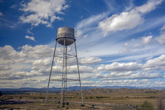 Water tower power (Tim Brown's Pictures) Tags: unitedstates newmexico landscape travel watertower ranch bigsky co