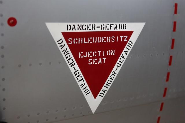 Gefahr durch Schleudersitz?