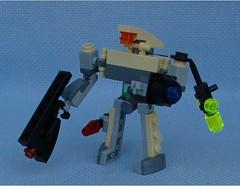 Zero Soldier (Mantis.King) Tags: lego legogaming legomecha legowargaming moc mechaton microscale mobileframezero mf0 mfz mecha mech scifi futuristic wargames zero