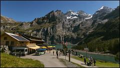 _SG_2018_09_0123_IMG_0121 (_SG_) Tags: schweiz suisse switzerland daytrip tour wandern hike hiking kandersteg lake oeschinen oeschinensee upper station heuberg panorama unterbärgli oberbärgli nature aussicht view unesco world heritage trail mountain berge loop