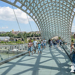 Ponte della Pace, Tbilisi, Georgia