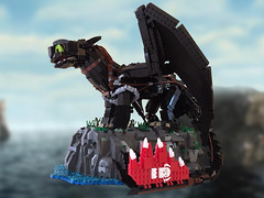 How To Train Your Dragon Toothless Lego MOC (richardvanas1) Tags: toothless how train your dragon hidden world 3 hiccup dragons dreamworks moc lego nightfury