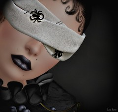 Lori Novo (Lori Novo) Tags: lorinovo secondlife avatar virtual october blogger lode dahlia blindfold kinkyevent alaskametro lipstick salemevent