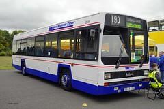 DONNINGTON 300918 G266EOG (SIMON A W BEESTON) Tags: showbus donnington 1266 westmidlands leyland lynx g266eog
