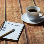 List of goals and a cup of coffee thumbnail