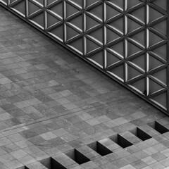 triangled.... (slavekR) Tags: triangle pattern wall hole building geometry