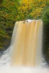 Little Stony Creek: Blonde waterfall (Shahid Durrani) Tags: little stony creek cascades pembroke virginia hurricane michael waterfall falls