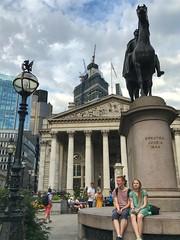 Royal Exchange / Bank of England, City of London, England (PaChambers) Tags: europe london 2018 summer cityoflondon england uk