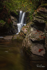 Duggers Falls - Blue Ridge Parkway, NC (Reid Northrup) Tags: rrs nature foliage forest leaves longexposure longexposurewater nikon reidnorthrup rocks stream water waterfall duggersfalls blueridgeparkway blueridgemountains linville