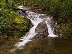 Falls Creek waterfall - 2 (MarksPhotoTravels) Tags: fallscreek greenvillecounty southcarolina waterfall