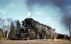 October 17, 1958 flashback #5 (rca55319) Tags: missaberoad dmir ironoretrains ironore 2884 yellowstone steamlocomotives steamengines saginawmn