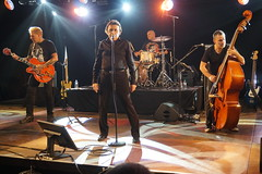 DICK RIVERS, le chat sauvage survivant du rock 60's  accompagné par Gretsch Man Band (Canada) (Philippe Haumesser (+ 6000 000 view)) Tags: concert concerts live scène stage rock dickrivers musicien musiciens musician musicians groupe groupes band bands sonyilce6000 sony 2018 personnes peoples