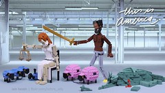 this is america (Ochre Jelly) Tags: lego moc afol politics republican democrat america usa election vote liberty justice freedom equality gambino satire