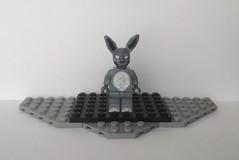 Lego Custom: Frank the Rabbit (Donnie Darko) (Captain Crafter) Tags: lego horror creepy halloween custom frank rabbit bunny rabbits donnie darko movies movie films film villains villain evil demon demons