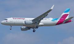 D-AEWS 29/08/17 Heathrow (EGLL) (Lowflyer1948) Tags: daews airbus a320214 290817 heathrow myrtleavenue eurowings
