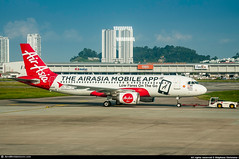 [PEN.2018] #AirAsia #AK #Airbus #A320 #9M-AFW #AirAsia.Mobile.App #awp (CHR / AeroWorldpictures Team) Tags: airasia airbus a320200 cn 3404 reg 9mafw eng cfm565 cab y180 rmk painted airasiamobileapp history aircraft first flight test fwwbx built site toulouse lfbo france feb2008 delivered ak axm attwilliamsf1 special colours plane aircrafts airplane a320 malaisia penang malaysia airport pen wmkp nikon d300s nikkor 70300vr lightroom aeroworldpictures awp chr 2018