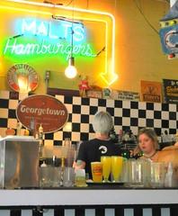 Luna Park Cafe (dnborgman) Tags: diner cafde seattle signs neon
