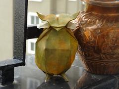 Hoot (Rohit KO) Tags: origami owl nguyen hung cuong rohit ko papercraft korean hanji paper watercolor