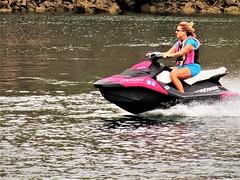 Fast rider (thomasgorman1) Tags: watercraft river riding recreation colorado canon water az desert arizona waverunner jetski cruising