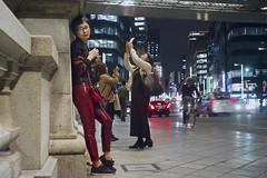 _PXK6666 (Concert Photography and more) Tags: 2018 october 17 japan tokyo nihonbashi pentax pentaxk1ii meyeroptik trioplan trioplan45mmf35 lenstest lowlight streetphotography streetphoto night nightshot vintagelens oldlens architecture urban liveactionhero