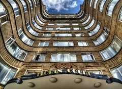 florin court (kevin towler) Tags: florin court london residential building barbican england structure house curves