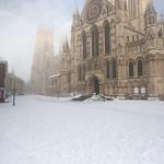 York Minster in Snow