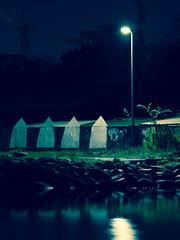 Down by the River (JamieDieu) Tags: nightphotography night nikon long exposure blue